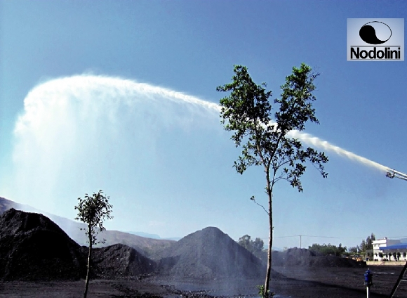 DUST SUPPRESSION-RAIN WATER CANNON SPRINKLER-GEARED